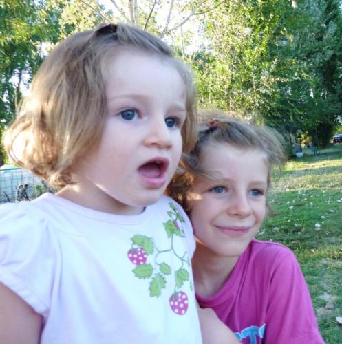 2010 luglio Maia e Mia