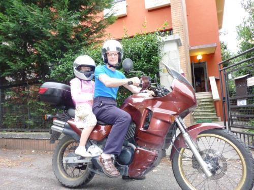 2010 luglio Mia con Massimo
