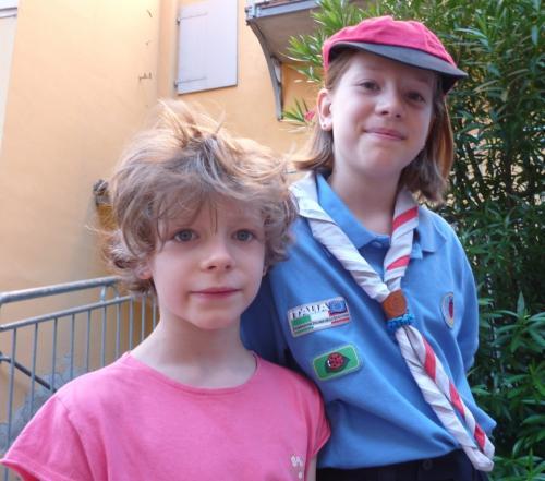 2010 luglio Mia e Micol
