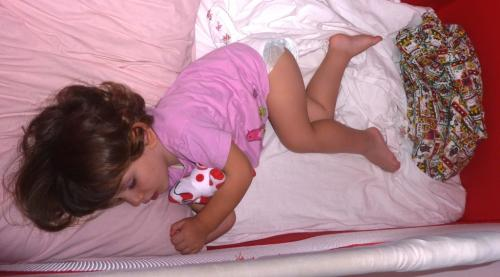 2010 settembre Maia dorme